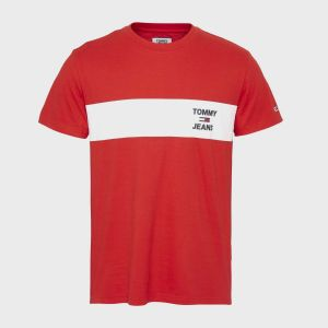 T-SHIRT CHEST STRIPE LOGO