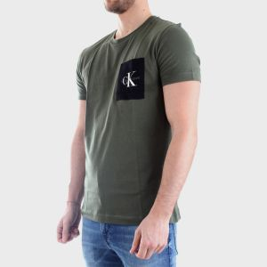 T-SHIRT MONOGRAM POCKET