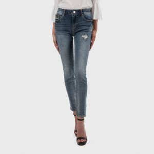 JEANS SHAPE APPL. STRETCH