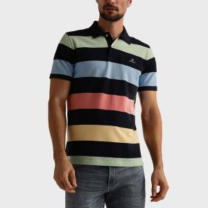 POLO FASCE PIQUET MULTICOLOR