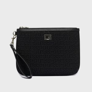 POCHETTE TOP ZIP CARIS ECOPELLE