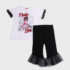 COMPLETO 2 PZ. (T-SHIRT+LEGGINGS) JERSEY