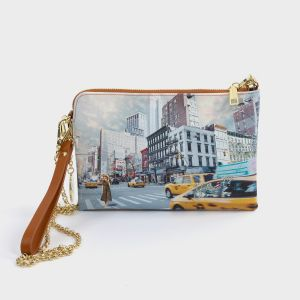 POCHETTE SMALL ECOPELLE  NEW YORK