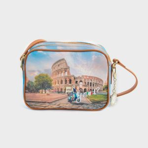 CAMERA BAG DOBLE ZIP ECOPELLE ROME