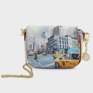 FLAP BAG ECOPELLE NEW YORK