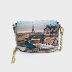 FLAP BAG ECOPELLE PARIS