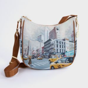 SHOULDER BAG ECOPELLE  NEW YORK