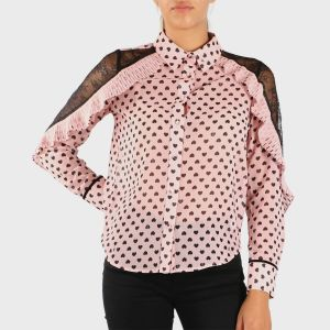 BLUSA ML HEARTS POLY