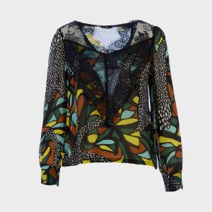 BLUSA STAMPATO POLY