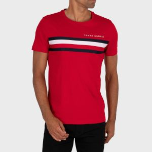 T-SHIRT GLOBAL STRIPE JERSEY
