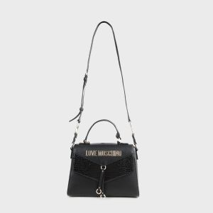 SHOULDER BAG SCRITTA ECOPELLE