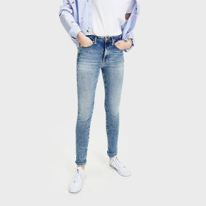JEANS SILVIA HR STRETCH DENIM