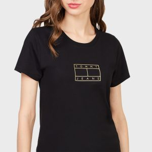 T-SHIRT METALLIC OUTLINE
