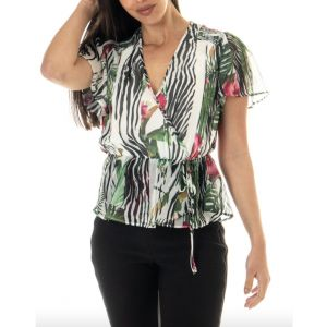 BLUSA NEREA POLY MULTI TROPICAL