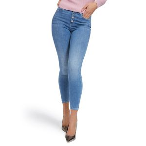 JEANS 1981 EXPOSED BUTTON