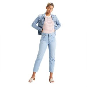 JEANS 501 CROP STRETCH