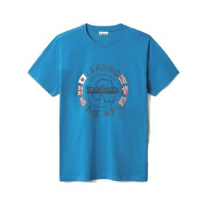 T-SHIRT MC STAMPA JERSEY